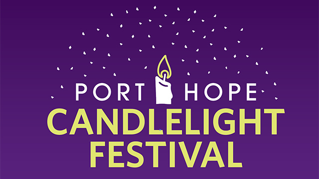 Port Hope Candlelight Festival graphic