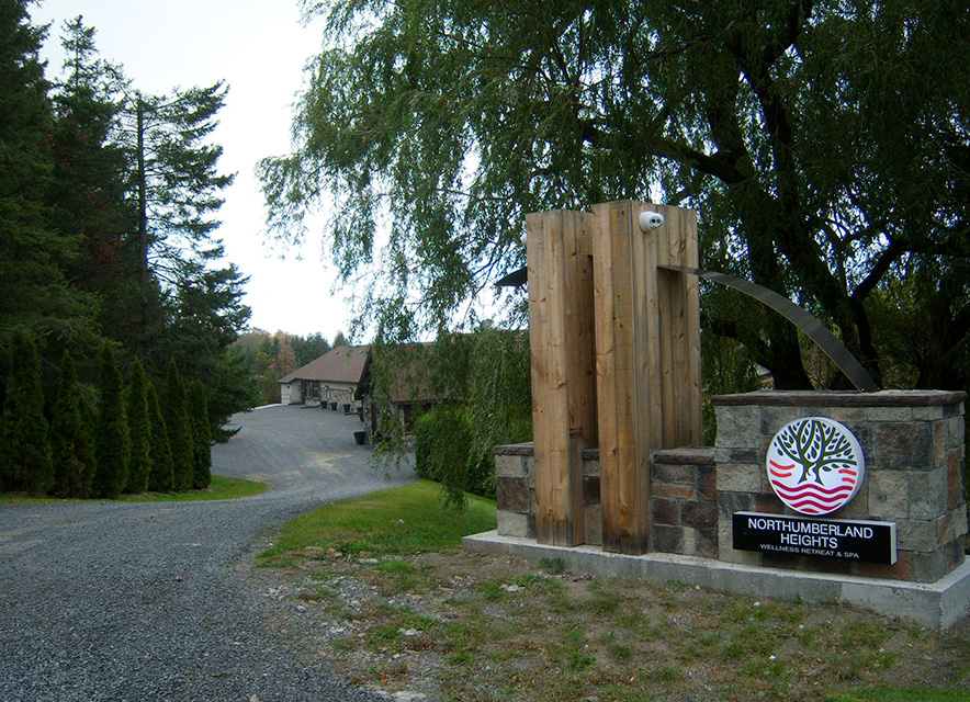 Entrance to Northumberland Heights Spa