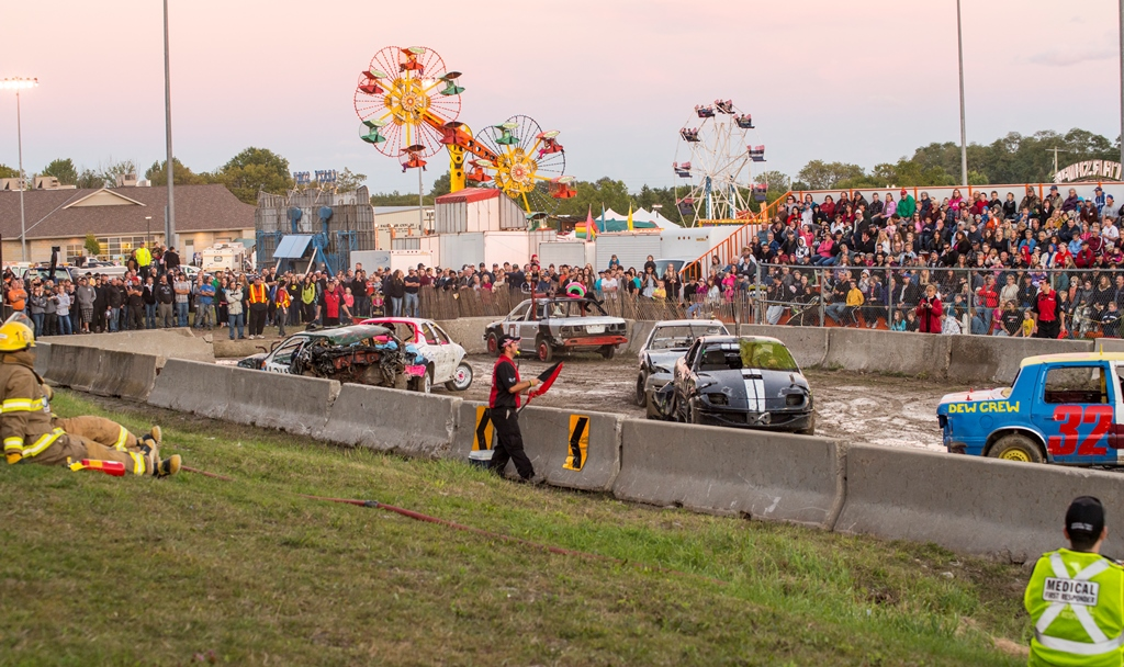 Demolition Derby at Port Hope Fall Fair