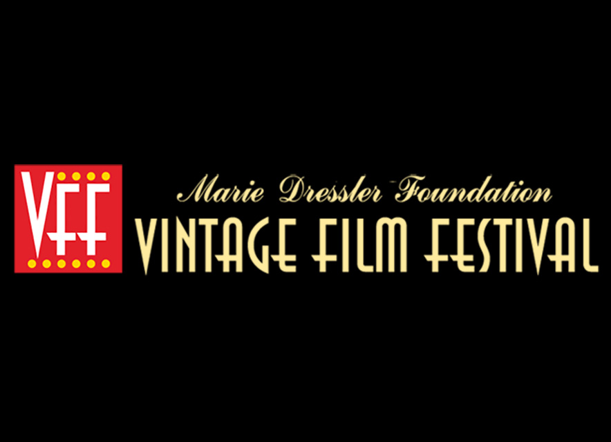 Vintage Film Festival logo on black