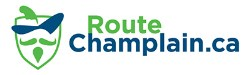 Route Champlain graphic logo